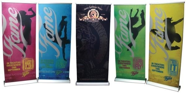 BS019 - Custom Banner Stand for Entertainment